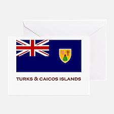 The Turks & Caicos Islands Flag Merchandise Greeti
