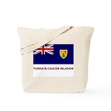 The Turks & Caicos Islands Flag Merchandise Tote B