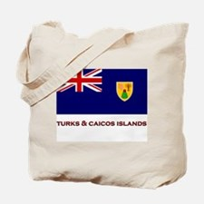 The Turks & Caicos Islands Flag Merchandise Tote B