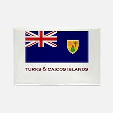 The Turks & Caicos Islands Flag Merchandise Rectan