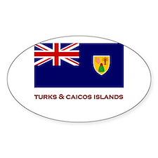 The Turks & Caicos Islands Flag Merchandise Sticke