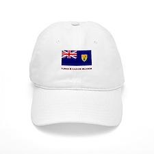 The Turks & Caicos Islands Flag Merchandise Baseball Cap
