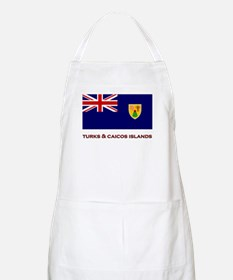 The Turks & Caicos Islands Flag Merchandise BBQ Ap