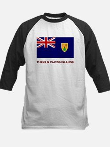 The Turks & Caicos Islands Flag Merchandise Tee