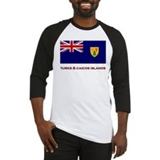 The Turks & Caicos Islands Flag Merchandise Baseba