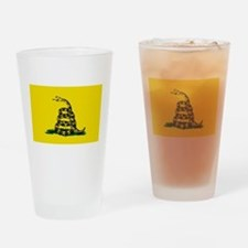 Unique Snake flag Drinking Glass
