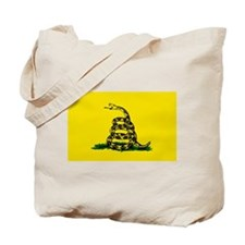 Cute Dont tread on me flag Tote Bag