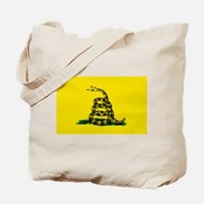 Cute Snake flag Tote Bag