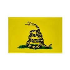 Cute Dont tread on me flag Rectangle Magnet