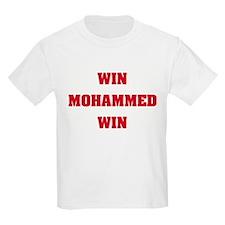 WIN MOHAMMED WIN Kids T-Shirt