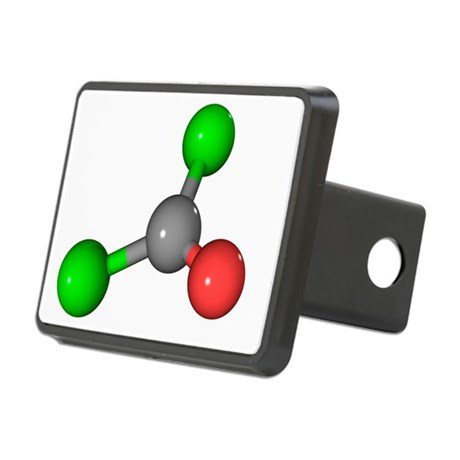 Phosgene chemical weapon molecule - Hitch Cover