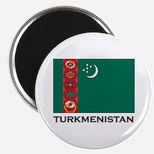 Turkmenistan Flag Stuff Magnet