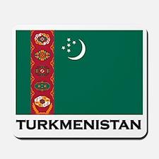 Turkmenistan Flag Stuff Mousepad