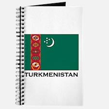 Turkmenistan Flag Stuff Journal
