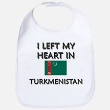 I Left My Heart In Turkmenistan Bib