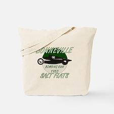 Bonneville Bombing Run-1953-Green-2.png Tote Bag