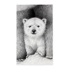 Polar Bear Cub Area Rug