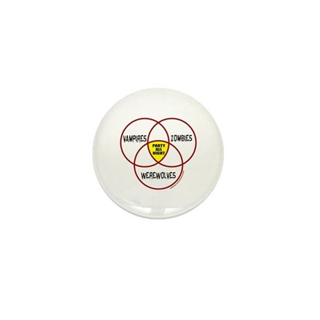 PARTY ALL NIGHT Mini Button (100 pack)