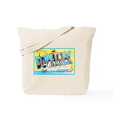 Dowagiac Michigan Greetings Tote Bag