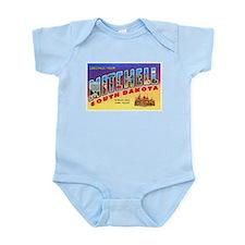 Mitchell South Dakota Greetings Infant Bodysuit