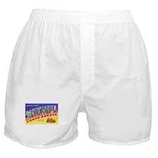Mitchell South Dakota Greetings Boxer Shorts