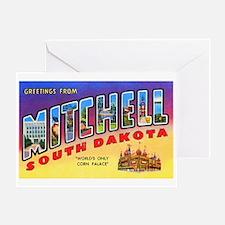 Mitchell South Dakota Greetings Greeting Card