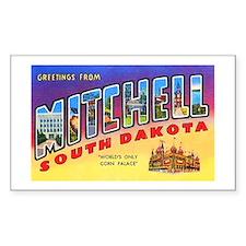 Mitchell South Dakota Greetings Decal