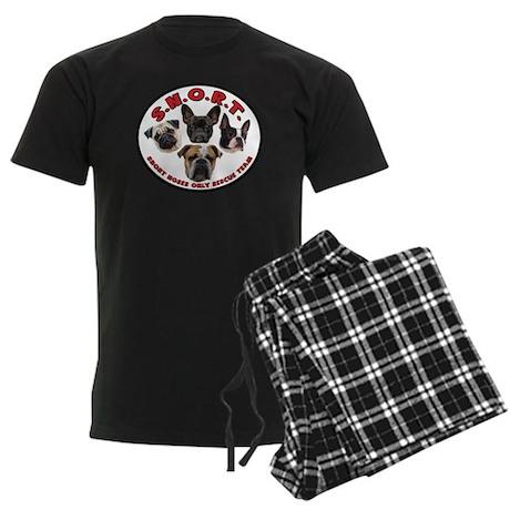 S.N.O.R.T. Logo Men's Dark Pajamas