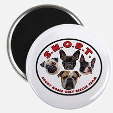 """S.N.O.R.T. Logo 2.25"""" Magnet (100 pack)"""