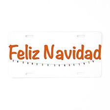 spanish.png Aluminum License Plate
