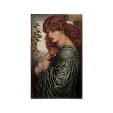 Dante Gabriel Rossetti Proserpine 3'x5' Area Rug
