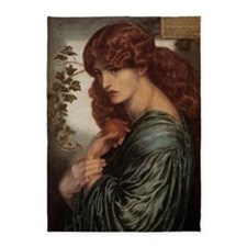 Dante Gabriel Rossetti Proserpine 5'x7'Area Rug
