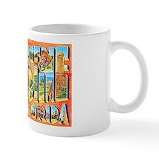 St Augustine Florida Greetings Mug