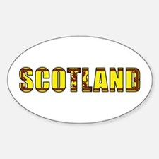 Scotland Royal Banner Oval Decal