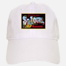 St Louis Missouri Greetings Baseball Baseball Cap