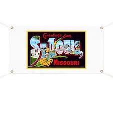 St Louis Missouri Greetings Banner