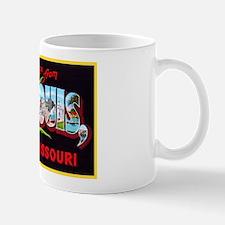 St Louis Missouri Greetings Mug