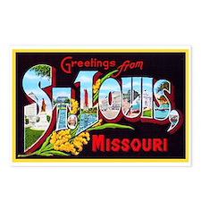 St Louis Missouri Greetings Postcards (Package of