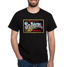 St Louis Missouri Greetings T-Shirt
