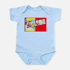 Toledo Ohio Greetings Infant Bodysuit