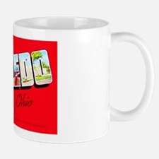 Toledo Ohio Greetings Mug