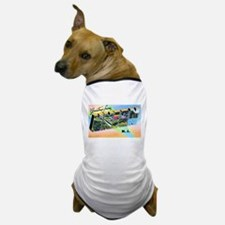 Union New Jersey Greetings Dog T-Shirt