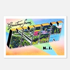 Union New Jersey Greetings Postcards (Package of 8