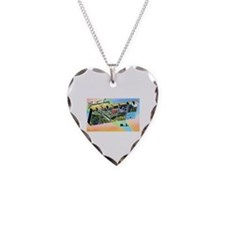 Union New Jersey Greetings Necklace