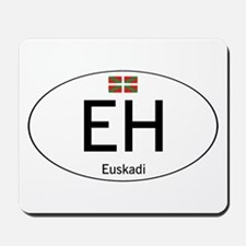 Basque white Mousepad