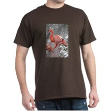 Flamingo Profile Dark T-Shirt
