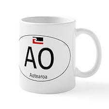 Car code Maori White Mug
