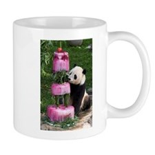 Panda With Cake Mug