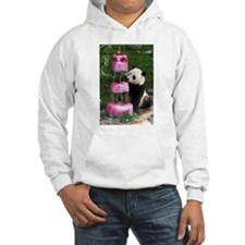 Panda With Cake Hooded Sweatshirt