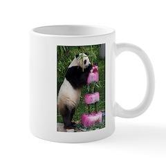 Panda Standing With Cake Mug